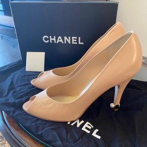 Chanel Peep Toe